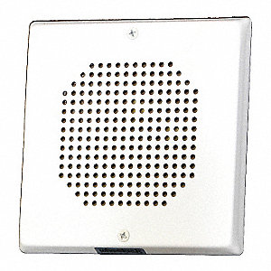 Speaker,25/70 Vrms,White,5-1/8 in. H