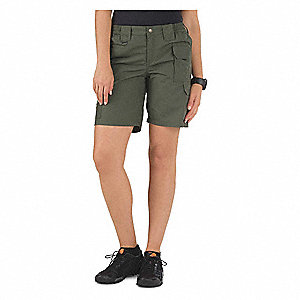 Womens Taclite Shorts,12,TDU Green