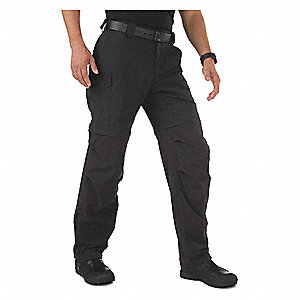 "Men's Tactical Pant. Size: 42"", Fits Waist Size: 42"", Inseam: 32"", Black"