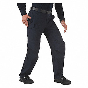 "Men's Tactical Pant. Size: 42"", Fits Waist Size: 42"", Inseam: 34"", Dark Navy"
