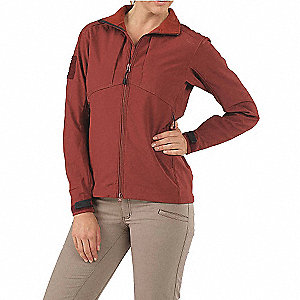 "Jacket, L Fits Chest Size 42"" to 44"", Brick Color"