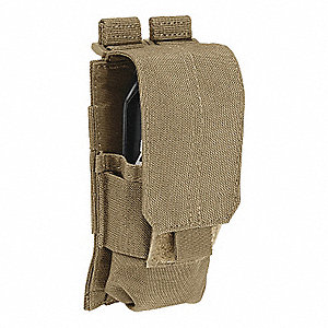 Grenade and Flashbang Pouch, Snap, Nylon, Sandstone