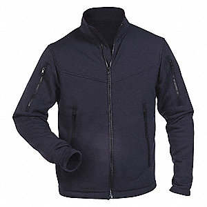 Flame-Resistant Jacket,Dark Navy,L