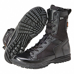 Military/Tactical Skyweight Boots, Toe Type: Plain, Black, Size: 11