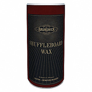 Shuffleboard Wax&#x3b; For Use With Mfr. No. 26082400000, 26084600000