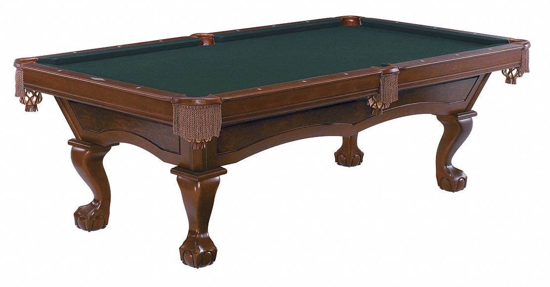 Brunswick Contender Series Pool Table Pocket 8 Ft Chestnut 38h462 28485812350 Grainger - How To Identify A Brunswick Pool Table