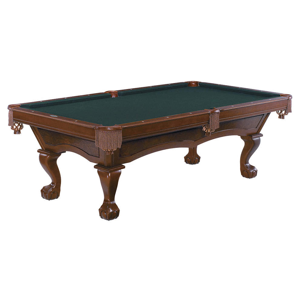 BRUNSWICK CONTENDER SERIES Pool Table Pocket Ft Chestnut - How to put a pool table together