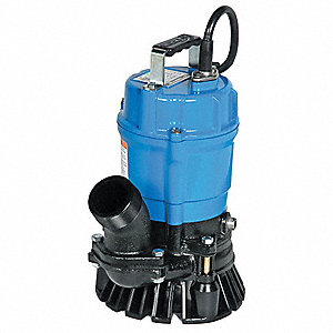 1/2 HP Construction Site/Residential Dewatering Pump, 115 Voltage, Discharge NPT: 2""