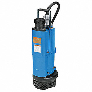 3 HP Construction Site/Residential Dewatering Pump, 230 Voltage, Discharge NPT: 3""