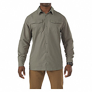 Freedom Flex Woven Shirt,Sage Green,M