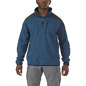 "Tactical Zip Jacket, S Fits Chest Size 34"" to 36"", Regatta Color"