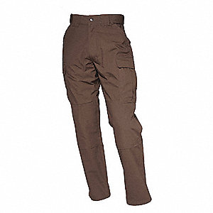 "Ripstop TDU Pant. Size: XL, Fits Waist Size: 39-1/2"" to 43"", Inseam: Long, Brown"