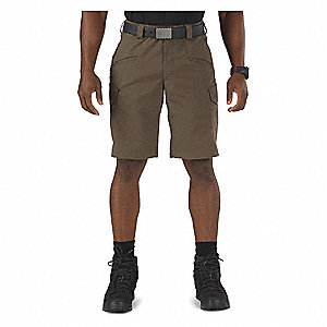 Tactical Shorts,33 in.,Tundra