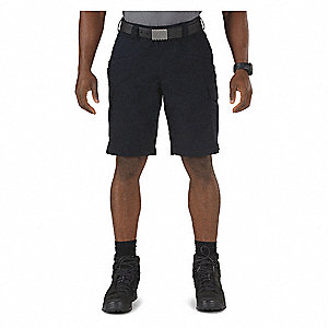 Tactical Shorts,33 in.,Dark Navy