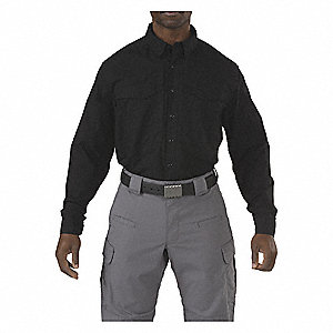Stryke Shirt Tall,Black,5XL