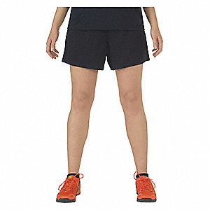 Womens Utility Shorts, L, Dark Navy