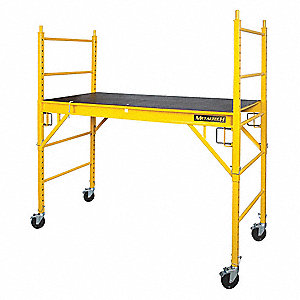 Scaffold Perry Style,6-5/32 ft.L,Steel