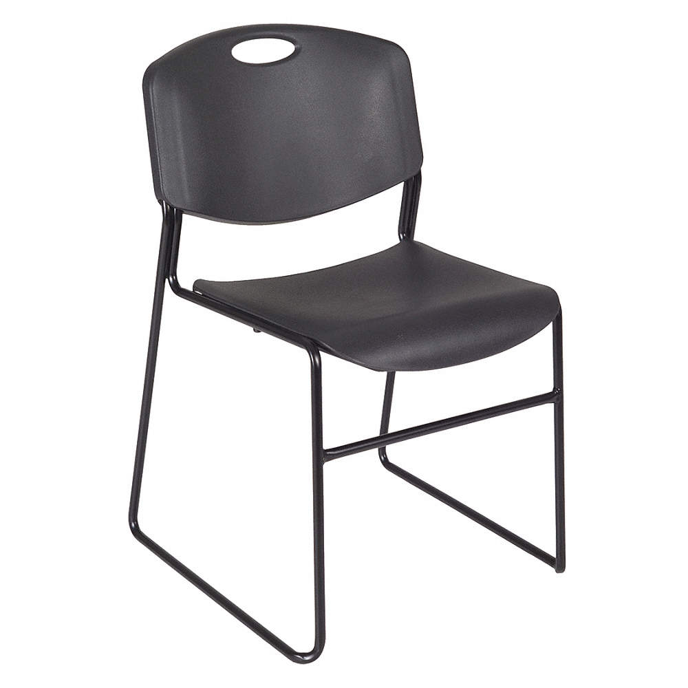 Peachy Black Steel Stacking Chair With Black Seat Color 4Pk Forskolin Free Trial Chair Design Images Forskolin Free Trialorg