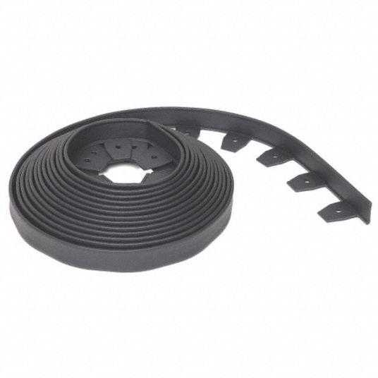 Edgepro Paver And Landscape Edging Black Plastic 240 Ft 1 Ea 38hx68 3100 40 6 Grainger