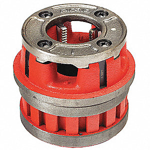 "Manual Threader Die Head, For Nominal Pipe Size: 1/4"", TPI: 18, NPT"