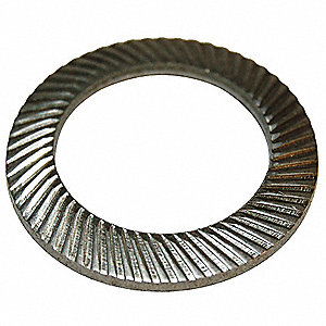 Disc Spring,Carbon Steel,0.945 in.,PK50