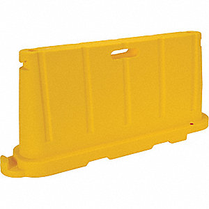 BARRICADE STACKABLE POLY YELLOW