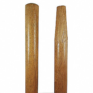 54X1-1/8 LACQ WOOD HNDL TAPERED TIP
