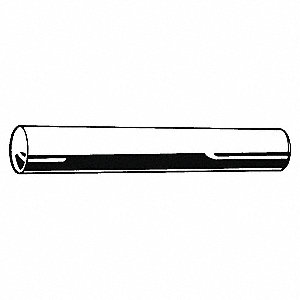 Steel Standard Taper Pin, 72mm L, 7mm Small End Dia.