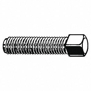 Set Screw,Cup,Square,3/8-16x1-1/4,PK100