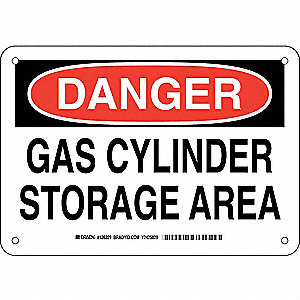 DANGER SIGN 7X10