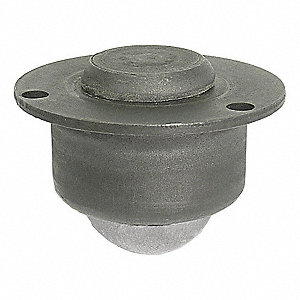 "1-5/16"" x 1-5/16"" x 15/16"" Black Oxide Steel Countersunk Flange with 90 Lb. Working Load Limit"