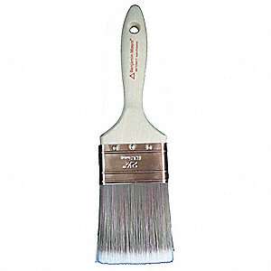 "3"" Chip Polyester/Nylon Paint Brush, Firm, for All Paint & Coatings, 1 EA"