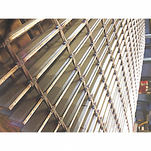 "Smooth Surface Welded Grating, 48"" Span, 36"" Width, 1"" Height"