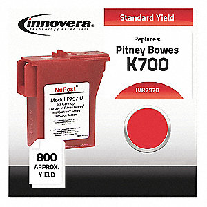 PM Ink Cartridge,Red,PitneyBows,MaxPg800