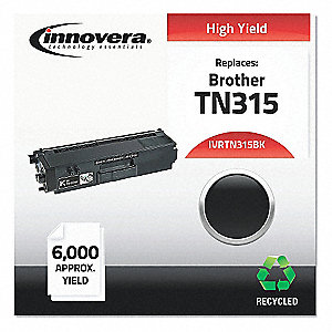 Brother Toner Cartridge, No. TN315BK, Black