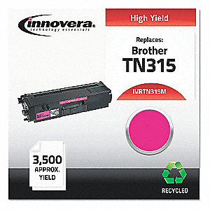 Brother Toner Cartridge, No. TN315M, Magenta