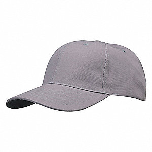 Hat,Cap,Gray,Polyester/Cotton,Universal
