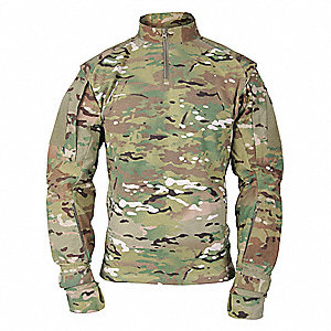 Tactical Shirt Long Sleeve,L3,Multicam
