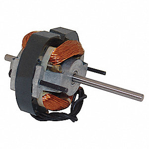 1/85 HP, HVAC Motor, Shaded Pole, 3000 Nameplate RPM, 115 Voltage, Frame 3.3