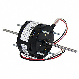 1/125 HP, HVAC Motor, Shaded Pole, 1500 Nameplate RPM, 115 Voltage, Frame 3.3