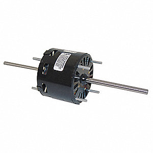 1/40 HP, HVAC Motor, Shaded Pole, 1500 Nameplate RPM, 115 Voltage, Frame 3.3