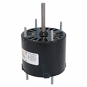 1/20 HP, HVAC Motor, Shaded Pole, 1550 Nameplate RPM, 460 Voltage, Frame 3.3