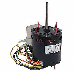 1/12 HP, HVAC Motor, Permanent Split Capacitor, 1550 Nameplate RPM, 115/230 Voltage, Frame 3.3