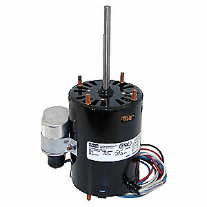 HVAC Motor,1/10 HP,1590 rpm,230V,3.3