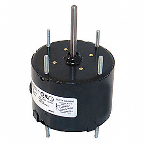 1/50 HP, HVAC Motor, Shaded Pole, 1500 Nameplate RPM, 115 Voltage, Frame 3.3