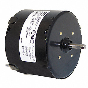 1/35 HP, HVAC Motor, Shaded Pole, 1500 Nameplate RPM, 115 Voltage, Frame 3.3