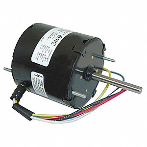 1/25 HP, HVAC Motor, Shaded Pole, 1550 Nameplate RPM, 115/230 Voltage, Frame 3.3