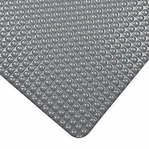 Antifatigue Mat, PVC Sponge, 3 ft. x 2 ft., 1 EA