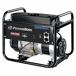 Portable Generator, 120VAC Voltage, 1700 Rated Watts, 2000 Surge Watts, 14/NA Amps @ 120/240V