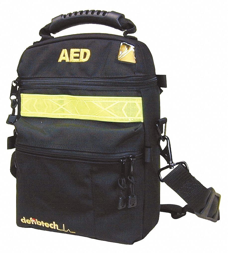 AED Soft Black Case; For Use With Mfr. No. DCF-A100-RX-EN, DCF-A110-RX-EN